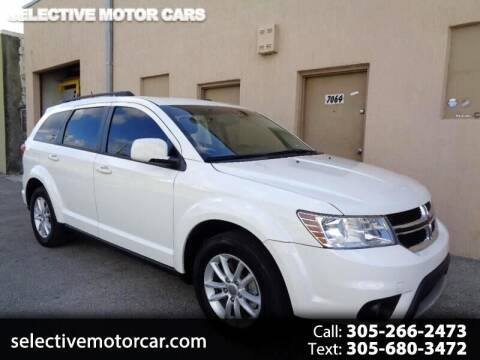 2016 Dodge Journey for sale at Selective Motor Cars in Miami FL