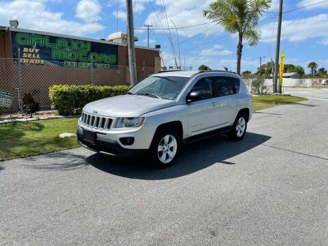 2012 Jeep Compass for sale at Galaxy Motors Inc in Melbourne FL