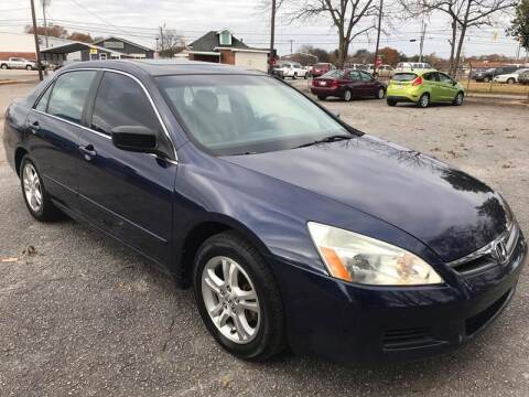 2006 Honda Accord for sale at Cherry Motors in Greenville SC