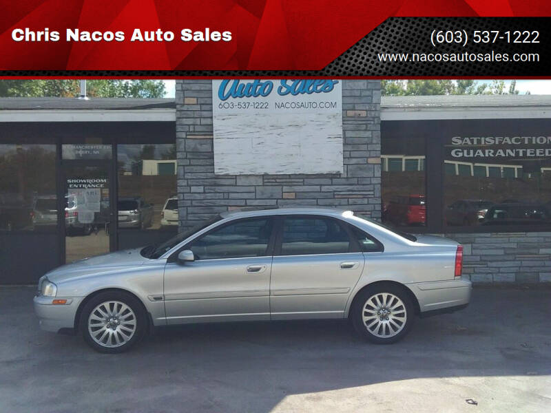 2006 Volvo S80 for sale at Chris Nacos Auto Sales in Derry NH