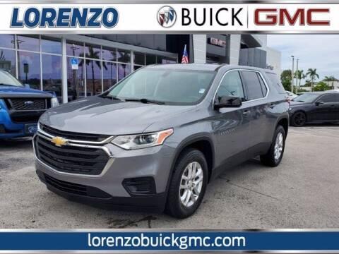 2018 Chevrolet Traverse for sale at Lorenzo Buick GMC in Miami FL