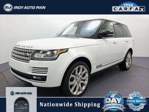2017 Land Rover Range Rover for sale at INDY AUTO MAN in Indianapolis IN