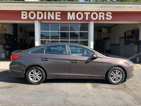 2015 Hyundai Sonata for sale at BODINE MOTORS in Waverly NY