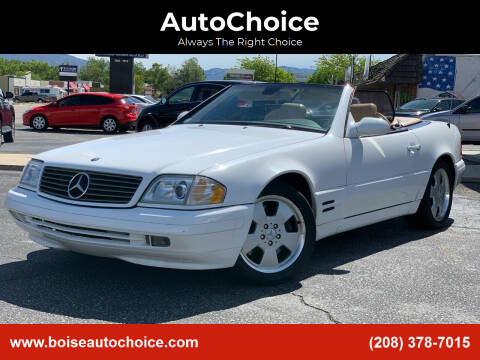 1999 Mercedes-Benz SL-Class for sale at AutoChoice in Boise ID