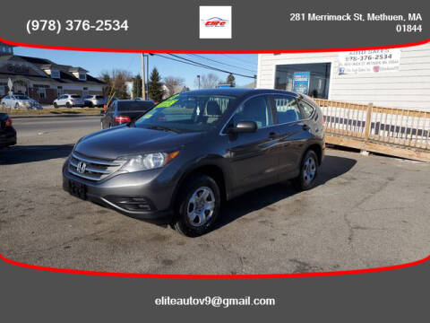2013 Honda CR-V for sale at ELITE AUTO SALES, INC in Methuen MA