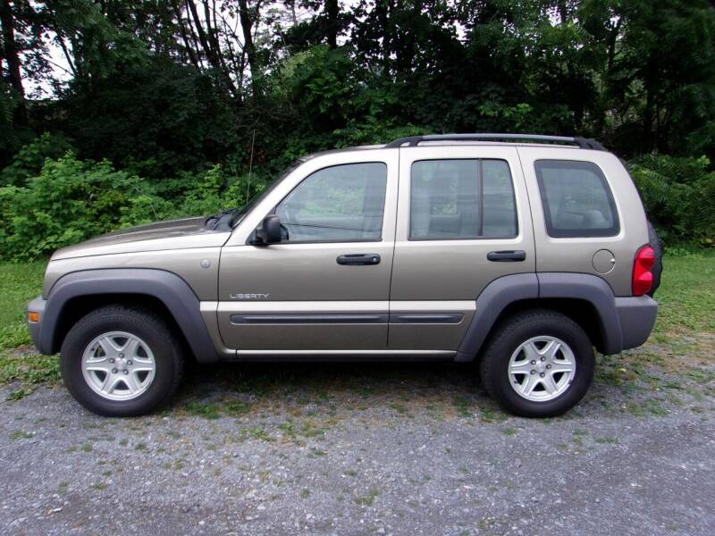 2004 Jeep Liberty for sale at THURMONT AUTO SALES in Thurmont MD