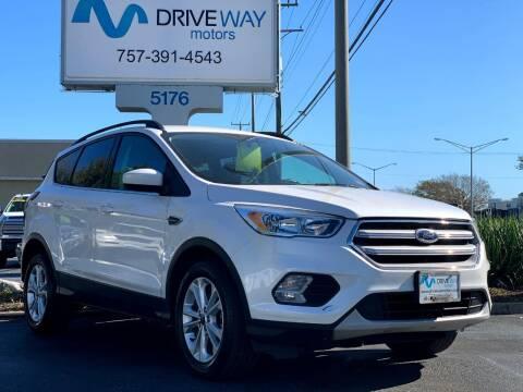 2018 Ford Escape for sale at Driveway Motors in Virginia Beach VA