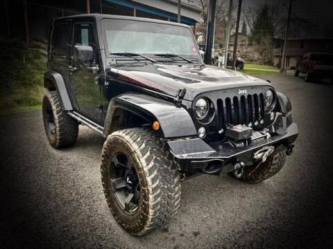 2015 Jeep Wrangler for sale at Carder Motors Inc in Bridgeport WV