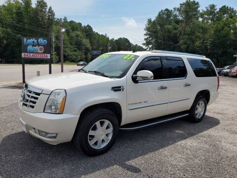 2007 Cadillac Escalade ESV for sale at Let's Go Auto in Florence SC