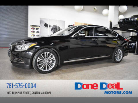 2015 Hyundai Genesis for sale at DONE DEAL MOTORS in Canton MA