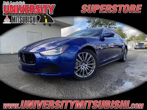 2017 Maserati Ghibli for sale at FLORIDA DIESEL CENTER in Davie FL