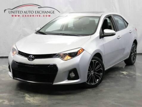 2016 Toyota Corolla for sale at United Auto Exchange in Addison IL