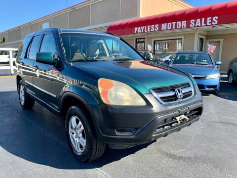 2004 Honda CR-V for sale at Payless Motor Sales LLC in Burlington NC