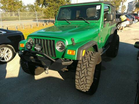 2005 Jeep Wrangler for sale at LUXURY IMPORTS AUTO SALES INC in North Branch MN