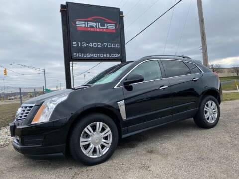 2016 Cadillac SRX for sale at SIRIUS MOTORS INC in Monroe OH