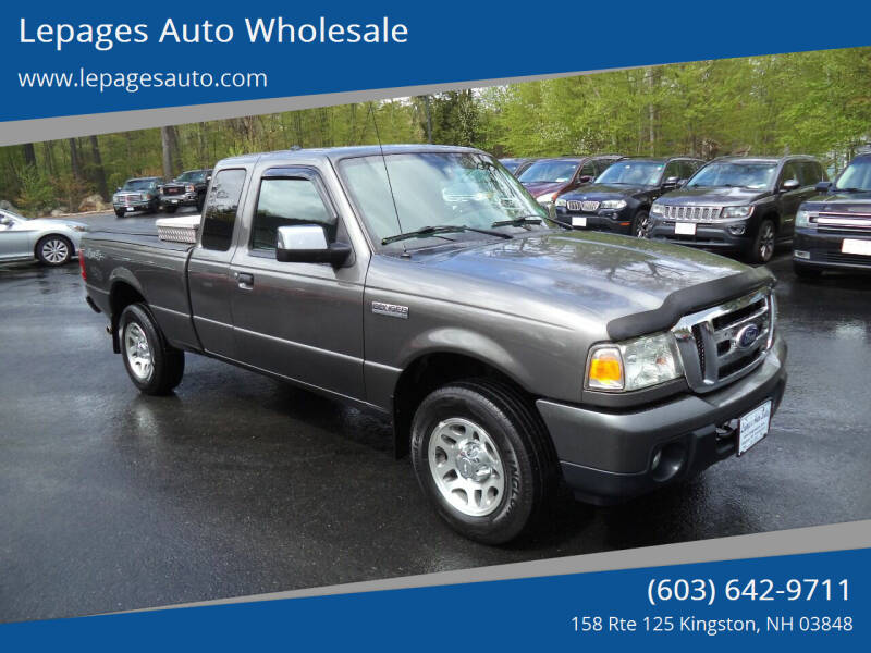 2010 Ford Ranger for sale at Lepages Auto Wholesale in Kingston NH