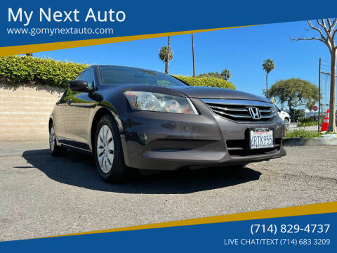 2011 Honda Accord for sale at My Next Auto in Anaheim CA