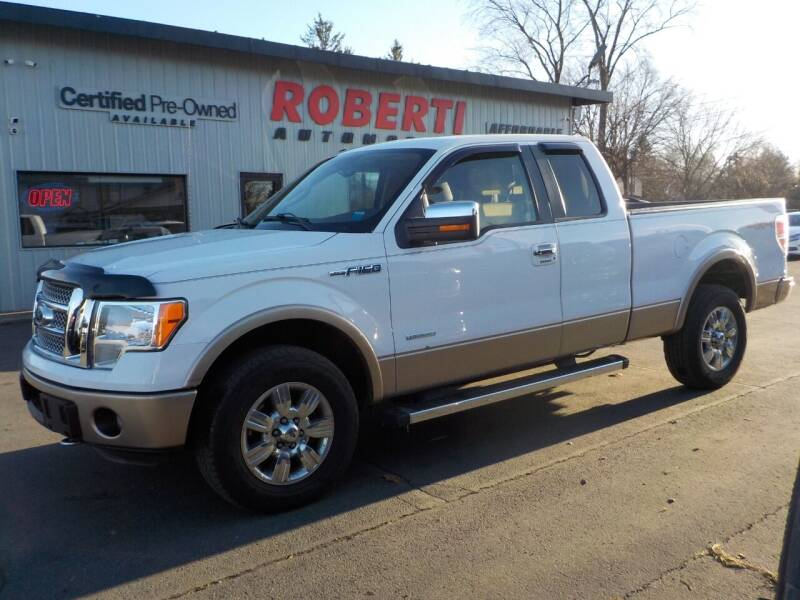 2012 Ford F-150 for sale at Roberti Automotive in Kingston NY