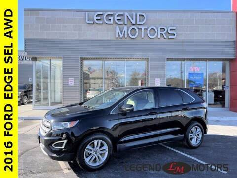 2016 Ford Edge for sale at Legend Motors of Detroit - Legend Motors of Waterford in Waterford MI