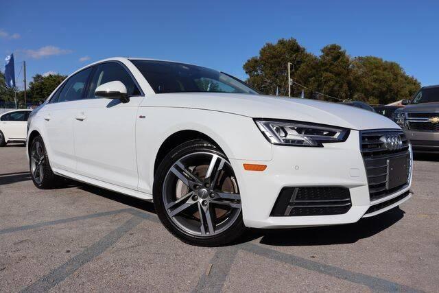2018 Audi A4 for sale at OCEAN AUTO SALES in Miami FL