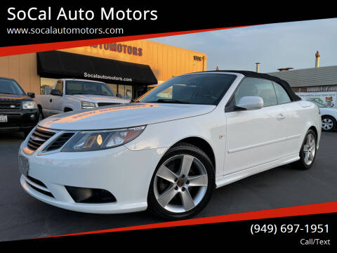 2011 Saab 9-3 for sale at SoCal Auto Motors in Costa Mesa CA