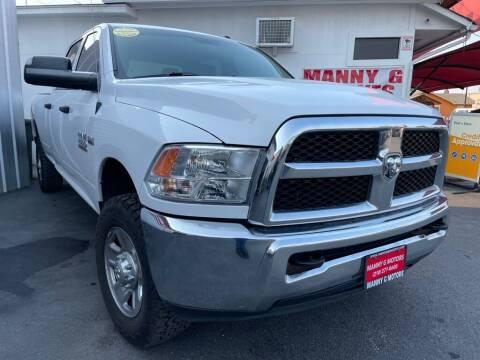 2017 RAM Ram Pickup 2500 for sale at Manny G Motors in San Antonio TX