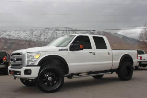2016 Ford F-350 Super Duty for sale at REVOLUTIONARY AUTO in Lindon UT