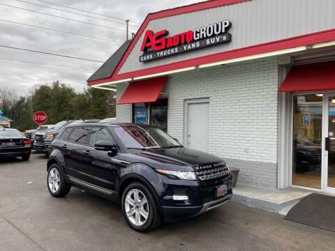 2012 Land Rover Range Rover Evoque for sale at AG AUTOGROUP in Vineland NJ