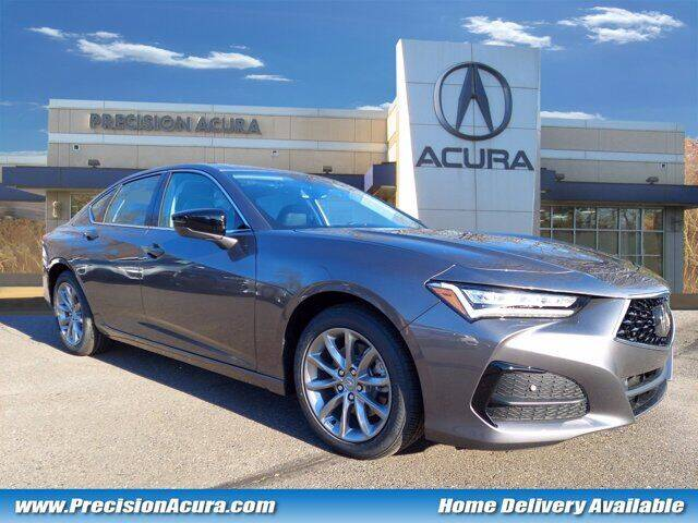 2021 Acura TLX for sale at Precision Acura of Princeton in Lawrenceville NJ