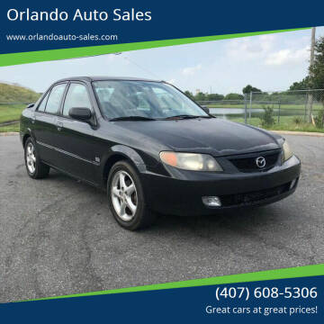 2001 Mazda Protege for sale at Orlando Auto Sales Recycling in Orlando FL