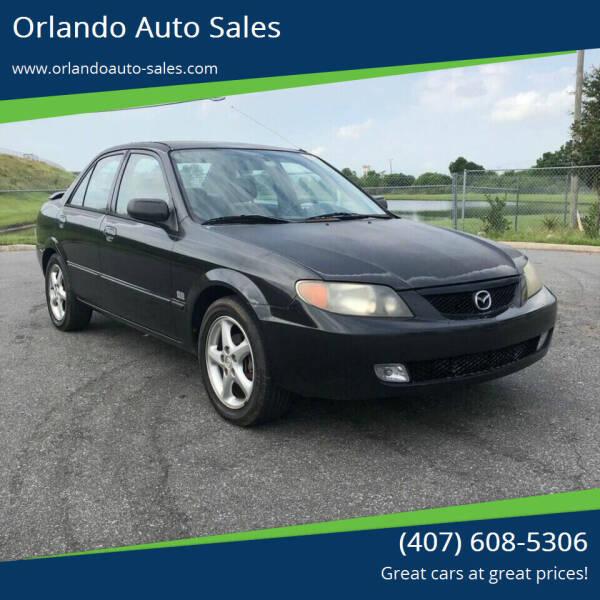 2001 Mazda Protege for sale at Orlando Auto Sales Recycling in Orlando FL