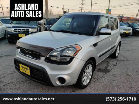 2012 Kia Soul for sale at ASHLAND AUTO SALES in Columbia MO
