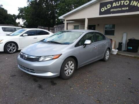 2012 Honda Civic for sale at QLD AUTO INC in Tampa FL