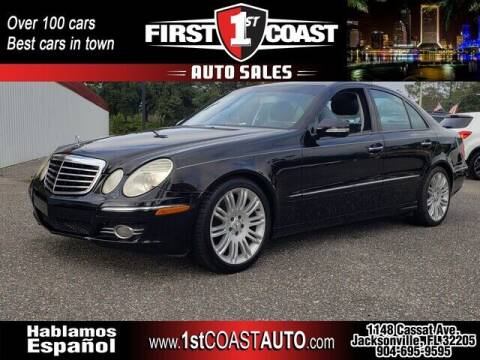 2007 Mercedes-Benz E-Class for sale at 1st Coast Auto -Cassat Avenue in Jacksonville FL