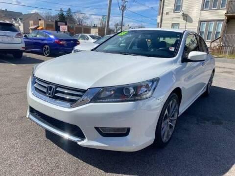 2013 Honda Accord for sale at Tonny's Auto Sales Inc. in Brockton MA