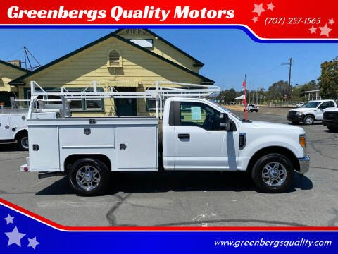 2017 Ford F-250 Super Duty for sale at Greenbergs Quality Motors in Napa CA