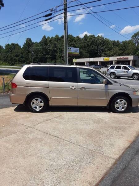 2001 Honda Odyssey for sale at Catawba Valley Motors in Hickory NC