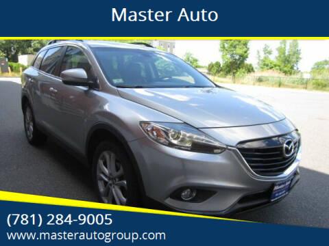 2013 Mazda CX-9 for sale at Master Auto in Revere MA