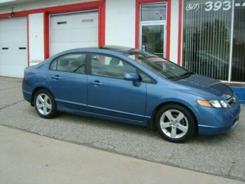2006 Honda Civic for sale at Cedar Auto Sales in Lansing MI