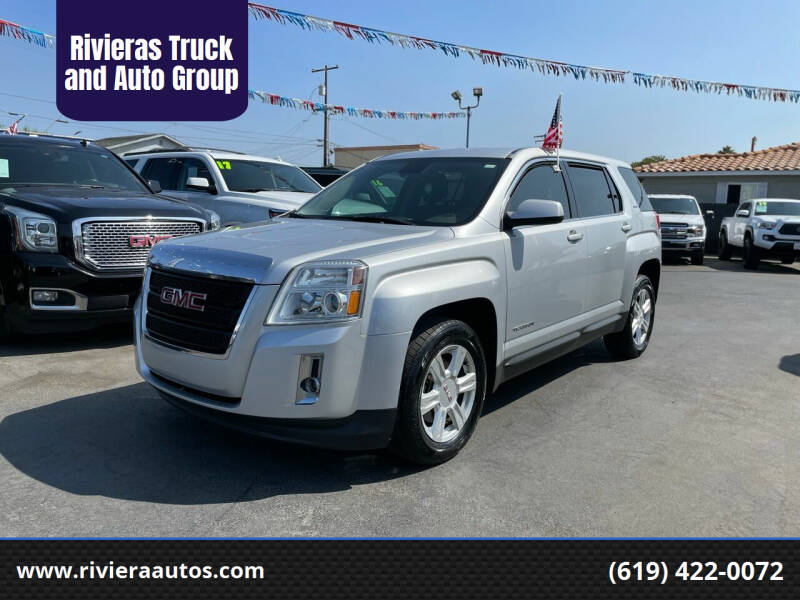 2015 GMC Terrain for sale at Rivieras Truck and Auto Group in Chula Vista CA