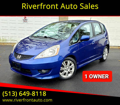2009 Honda Fit for sale at Riverfront Auto Sales in Middletown OH