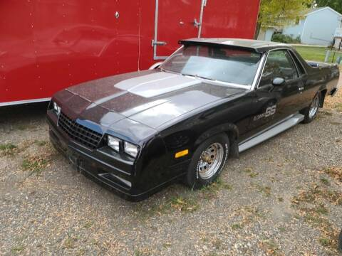 1984 Chevrolet El Camino for sale at CRUZ'N MOTORS - Classics in Spirit Lake IA