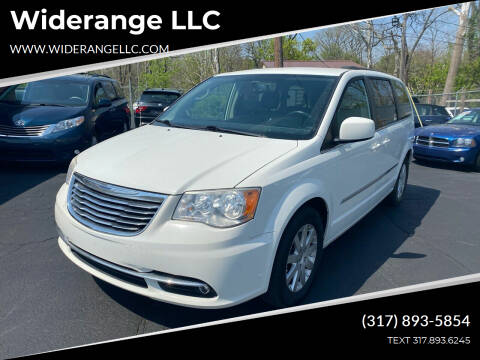 2013 Chrysler Town and Country for sale at Widerange LLC in Greenwood IN