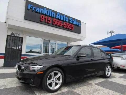 2014 BMW 3 Series for sale at Franklin Auto Sales in El Paso TX