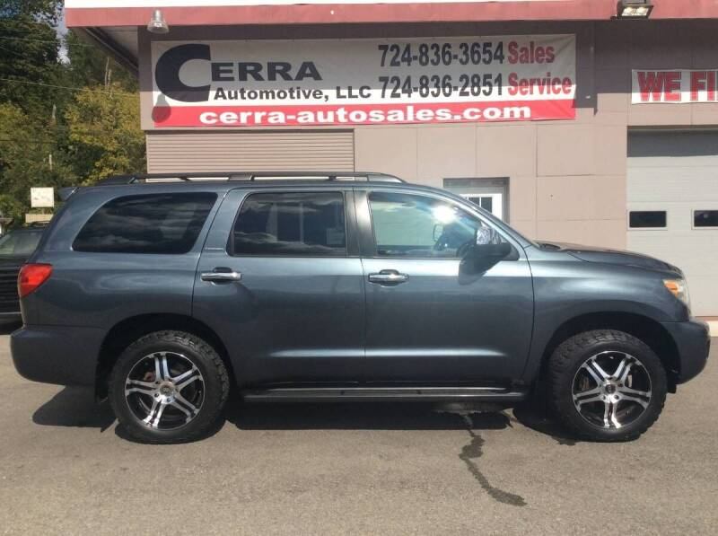 2010 Toyota Sequoia for sale at Cerra Automotive LLC in Greensburg PA