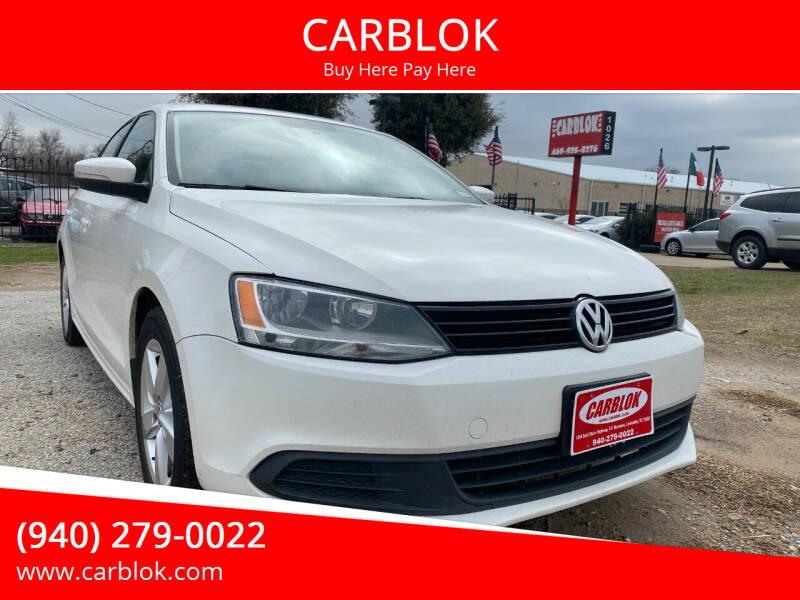 2011 Volkswagen Jetta for sale at CARBLOK in Lewisville TX