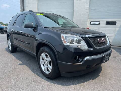 2010 GMC Acadia for sale at Zimmerman's Automotive in Mechanicsburg PA