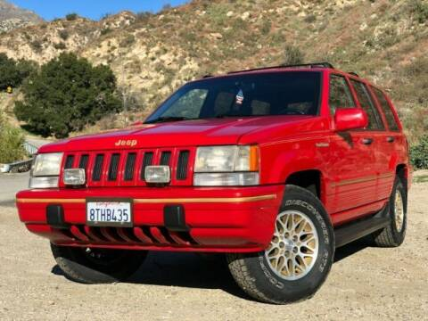 1993 Jeep Grand Cherokee for sale at Classic Car Deals in Cadillac MI