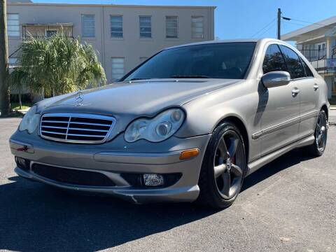 2006 Mercedes-Benz C-Class for sale at LUXURY AUTO MALL in Tampa FL