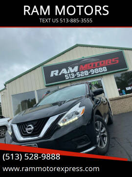 2016 Nissan Murano for sale at RAM MOTORS in Cincinnati OH